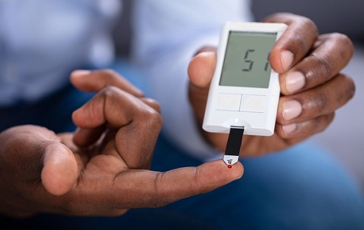Diabetes - testing blood glucose levels at home